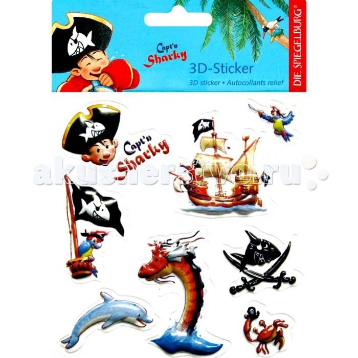 Spiegelburg Наклейки Captn Sharky 20417Наклейки Captn Sharky 20417Spiegelburg Наклейки Captn Sharky 20417 – это отличный выбор мальчикам, увлекающимся пиратами.   В упаковке находится 8 объемных наклеек с изображениями капитана Шарки, его команды, пиратского флага, корабля и разных морских обитателей. Ими можно украсить школьный дневник, тетради и многие другие предметы.  Немецкая компания Spiegelburg специализируется на детских товарах уже более 20 лет, это гарантирует высочайшее качество продукции и соответствие европейским стандартам.<br>