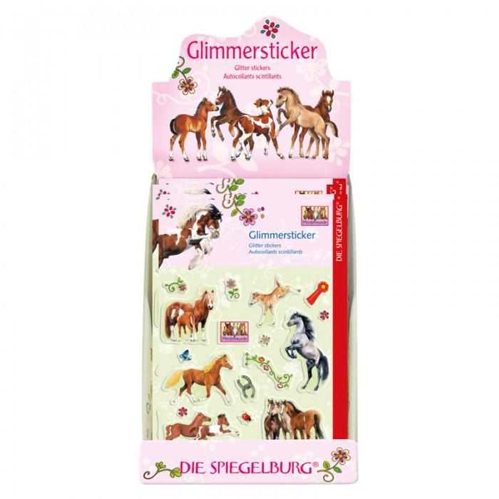 Spiegelburg Наклейки Pferdefreunde 20643Наклейки Pferdefreunde 20643Spiegelburg Наклейки Pferdefreunde 20643 станут хорошим подарком девочкам, любящим лошадей.   В упаковке находится 18 объемных наклеек с изображениями лошадей и различных небольших узоров. Они прекрасно подойдут для украшения школьных дневников, тетрадей и альбомов маленьких девочек.В наборе наклейки представлены разных размеров и с различными персонажами. Наклейки станут отличным дополнением к целой серии канцелярских товаров Pferdefreunde.  Немецкая компания Spiegelburg специализируется на детских товарах уже более 20 лет, это гарантирует высочайшее качество продукции и соответствие европейским стандартам.<br>