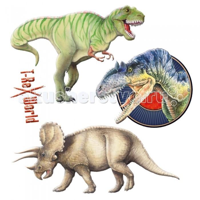 Spiegelburg Наклейки флуоресцентные T-Rex 21547