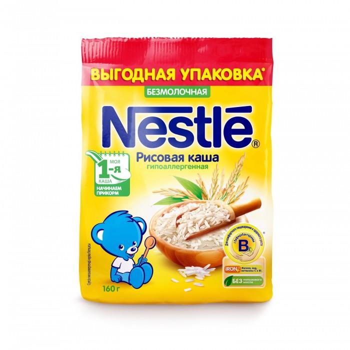 Nestle Безмолочная рисовая каша с 4 мес. 160 г