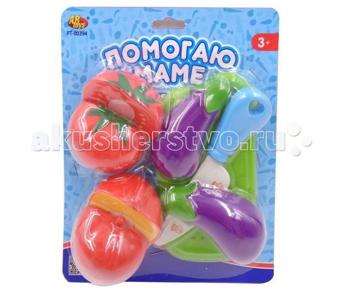 ABtoys Помогаю маме Набор овощей 8 предметов