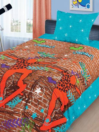 Постельное белье 1.5-спальное Непоседа Акушерство. Ru 1090.000
