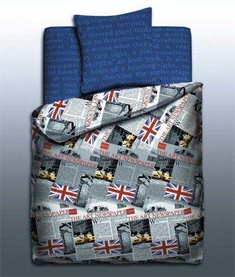 Постельное белье 1.5-спальное Unison Teens Teens Britain 1.5-спальное (3 предмета)