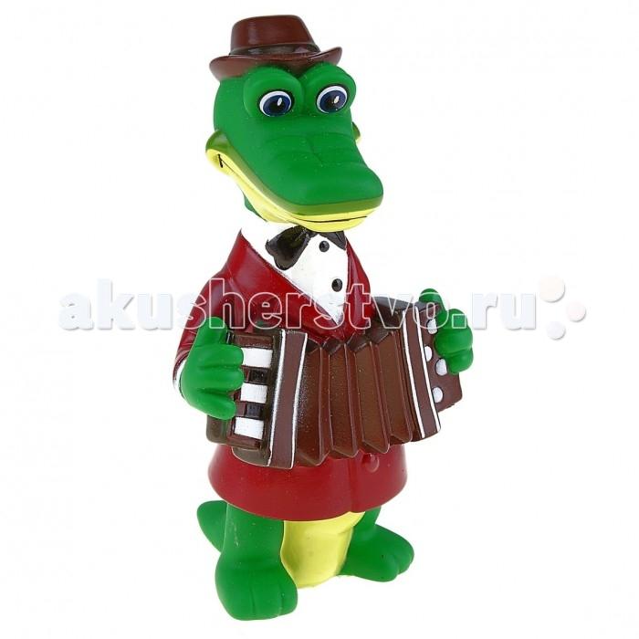 Союзмультфильм Игрушка для купания Крокодил ГенаИгрушка для купания Крокодил ГенаСоюзмультфильм Игрушка для купания Крокодил Гена - это замечательная игрушка для купания, которая станет отличным подарком для любого малыша.   Особенности: В процессе игры ребенок будет выдумывать различные сюжеты, развивая свое воображение.  Фигурка изготовлена из высококачественных полимерных материалов. Теперь купание будет проходить весело и интересно. Все игрушки расписаны вручную и отличаются точной прорисовкой деталей.<br>