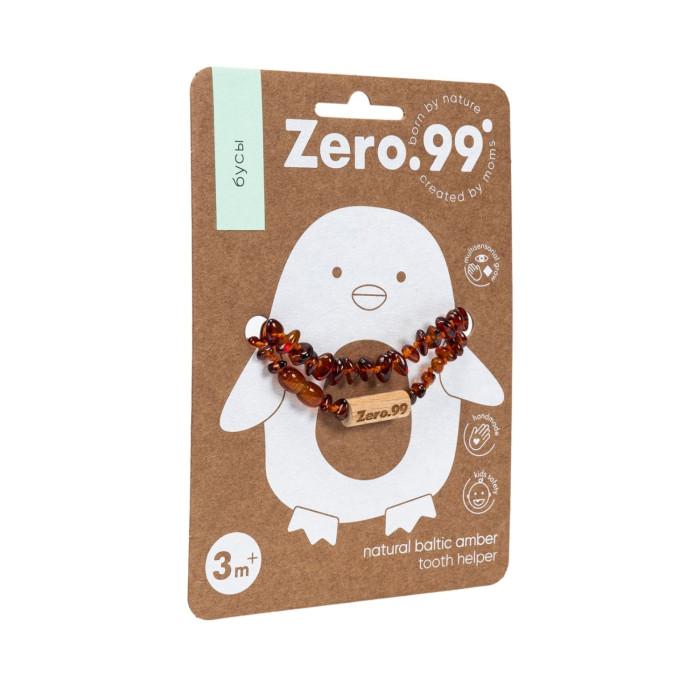 Прорезыватель Zer0-99 Детские янтарные бусы для прорезывания зубовДетские янтарные бусы для прорезывания зубовДетские янтарные бусы для прорезывания зубов ZERO - 99™  Детские бусы ZerO-99™ - это натуральное природное средство для облегчения болезненных симптомов при прорезывании зубов у младенцев.   Янтарные бусы - одно из самых популярных природных средств для успокоения малышей, используемых в Европе десятилетия.   Янтарь - природный анальгетик, его обезболивающие и противовоспалительные свойства делают его идеальным естественным гомеопатическим продуктом для младенцев, детей, а также взрослых. При ношении на теле, янтарная кислота впитывается через кожу ребенка, помогая безболезненно и спокойно  перенести прорезывание зубов.  Серия товаров ZERO - 99™ призвана облегчить жизнь родителям!  Меры предосторожности и безопасность: Бусы ZerO-99™ изготовлены из округлых полированных бусин. Cпециальная закручивающаяся застежка, безопасная для ребенка. Длина бус расчитана таким образом, чтобы малыш не смог грызть надетые бусы.  Янтарные бусы нужно использовать под контролем взрослых (не во время сна). Обратите внимание, что янтарные бусы ZERO-99™ предназначены только для ношения, нельзя использовать их в качестве прорезывателя для зубов.  В каком возрасте использовать? Детские янтарные бусы отлично подходят как для девочек, так и для мальчиков. Бусы ZERO-99™ следует носить детям в возрасте от 3 месяцев (с момента начала прорезывания зубов) до 2-3 лет (окончание периода прорезывания зубов у детей). Ограничения по возрасту ношения бус нет, они надолго могут остаться любимым украшением или амулетом ребенка.  Используемые материалы: для производства детских бус ZERO-99™ используются округлые полированные бусины натурального балтийского янтаря, которые не причиняют неудобства малышам при ношении. Это обеспечивает максимальный контакт с кожей и дает дополнительный комфорт для вашего ребенка. Неудобства не доставляет и очень малый вес бус, всего 5-6г.   Хранение, уход и меры предо