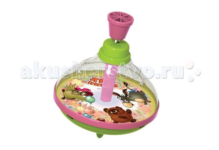 Развивающая игрушка Союзмультфильм Юла Винни Пух и его друзья 14 см
