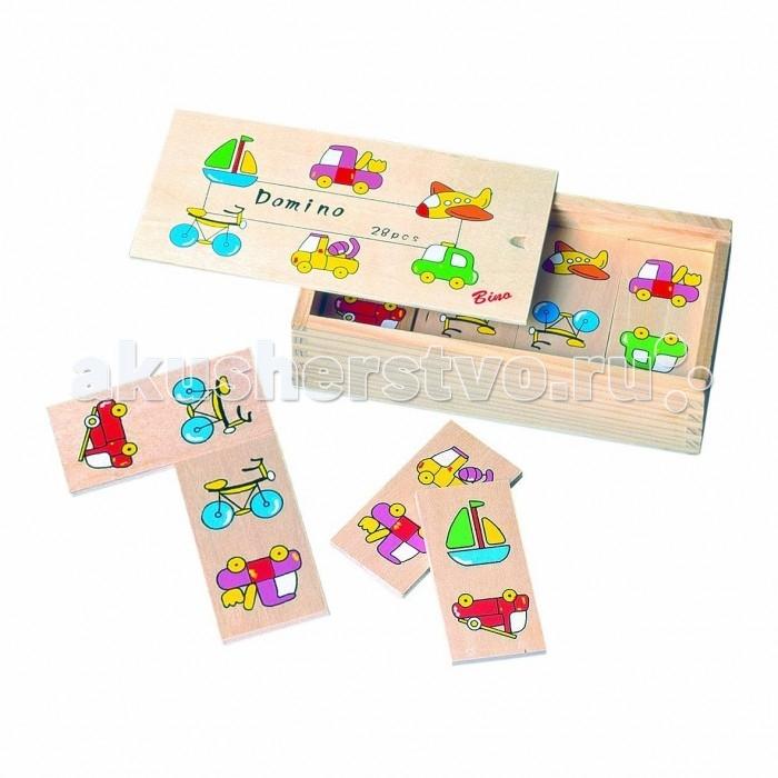 Spiegelburg Домино Транспорт 84078Домино Транспорт 84078Spiegelburg Домино Транспорт 84078Этот замечательный набор из 28-ми деревянных деталей подарит ребенку радость игры с натуральными деревянными игрушками, познакомит с существующими транспортными средствами, научит складывать логические цепочки, быть внимательным и считать.  Принцип игры такой же, как и в обычном домино: к рисункам транспорта подбираются похожие рисунки, и таким образом выстраивается цепочка из деревянных пластинок.  Игра выполнена из древесины с использованием качественных безопасных красок.  Немецкая компания Spiegelburg специализируется на детских товарах уже более 20 лет, это гарантирует высочайшее качество продукции и соответствие европейским стандартам.<br>