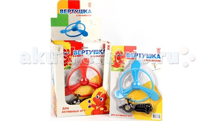 Top Toys Вертушка GТ2806 с пускателем, со светом