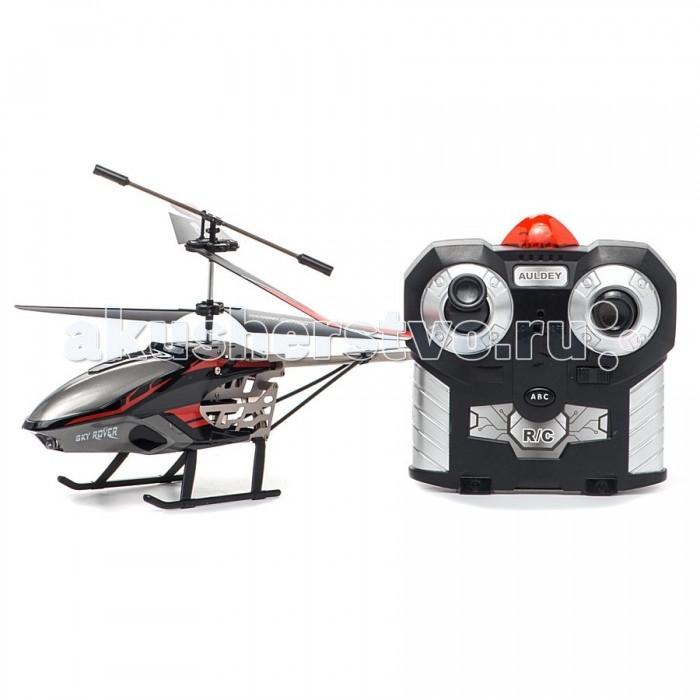 Auldey Вертолет YW857126 на ИК управлении 30 см 3 каналаВертолет YW857126 на ИК управлении 30 см 3 каналаВертолёт Auldey YW857126 привлечет внимание не только ребенка, но и взрослого, и станет отличным подарком любителю воздушной техники. Вертолет оснащен 3-канальным радиоуправлением, светодиодными огнями и встроенным гироскопом.  Модель обладает высокой стабильностью полета, что позволяет полностью контролировать его процесс, управляя без суеты и страха сломать игрушку. Каждый запуск модели будет максимально комфортным и принесет вам яркие впечатления.  Аппарат оснащен гироскопом и светодиодной подсветкой. Вертолет работает на аккумуляторе, который заряжается через USB, а пульт - на батарейках.  6 x AA / LR6 1.5V (пальчиковые). В комплект не входят.   Вертолет выполнен из металла с элементами пластика.<br>