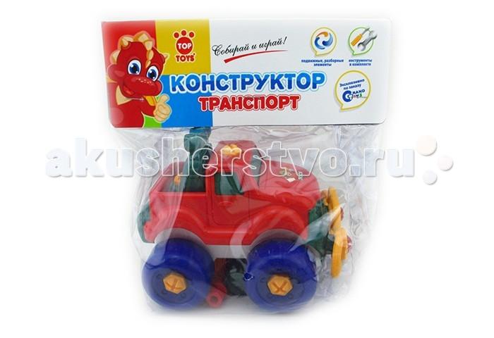 Top Toys GT3226 МашинаGT3226 МашинаКрасочный конструктор поможет малышу собрать свой первый транспорт.  В наборе: подвижные разборные элементы, инструменты.  Материал: пластмасса.<br>