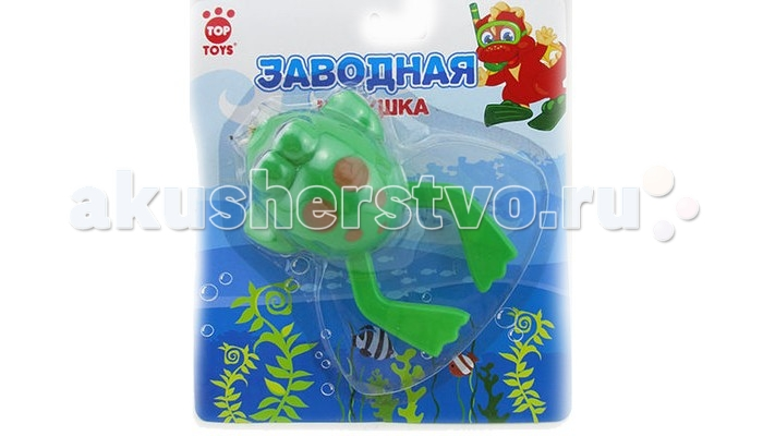 Top Toys Лягушка GT8891 заводная