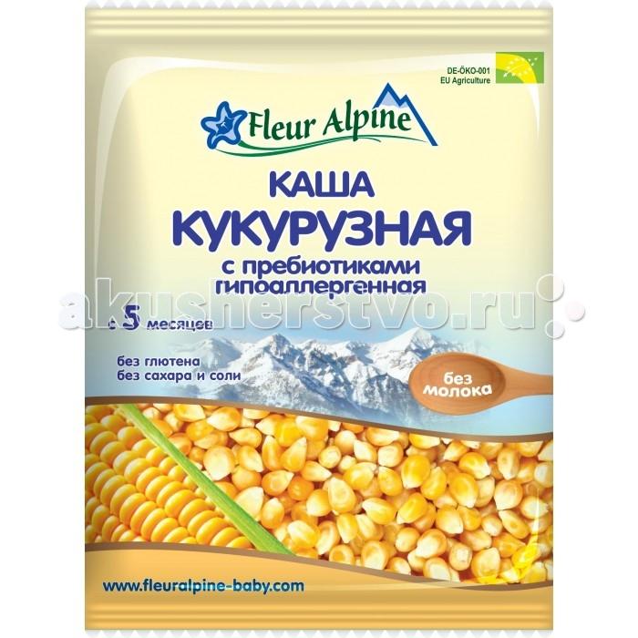 Fleur Alpine Безмолочная кукурузная каша Органик с пребиотиками (сашет) 5 мес. 25 г