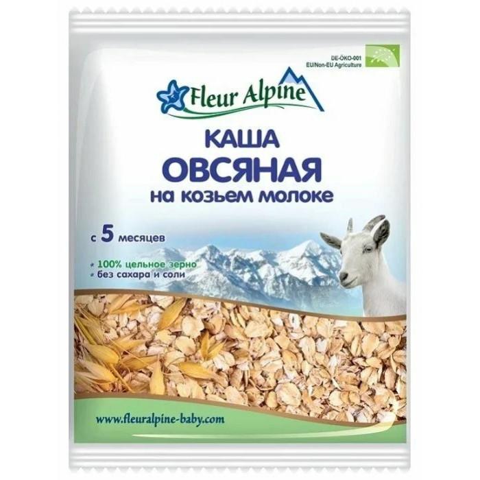 Fleur Alpine Молочная овсяная каша на козьем молоке Органик (сашет) 5 мес. 40 г