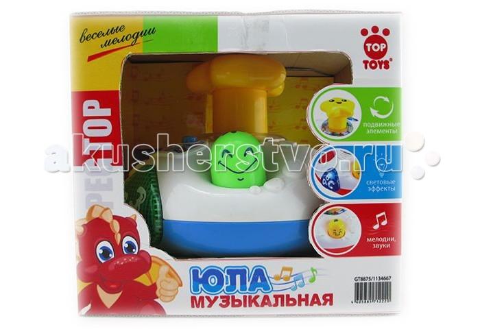 Top Toys Юла GT8875 обучающая со светом и звуком