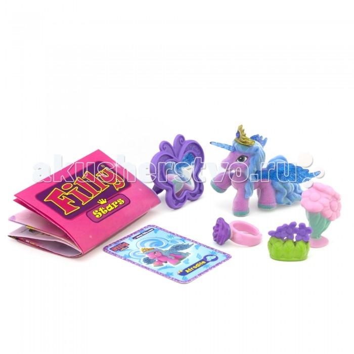 Filly Игровой набор Звезды Лошадка Afrodite с аксессуарами