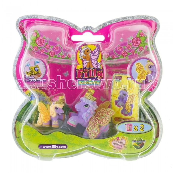 Filly Волшебная семья лошадки-бабочки с блестящими крыльями Eurissa
