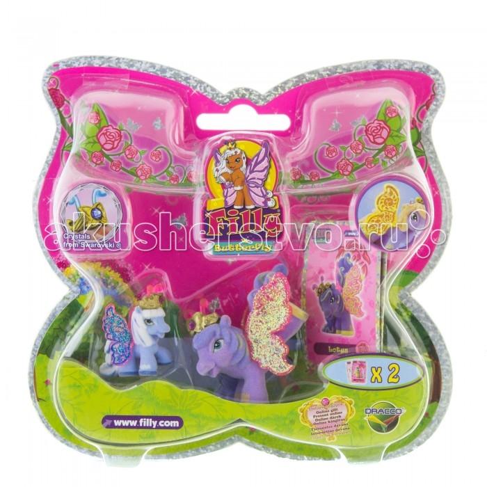 Filly Волшебная семья лошадки-бабочки с блестящими крыльями LotusВолшебная семья лошадки-бабочки с блестящими крыльями Lotus«Волшебная семья» Filly, лошадки-бабочки с блестящими крыльями Lotus   В прекрасном саду посреди волшебного леса Папиллия живут лошадки-бабочки Filly, у которых есть роскошные блестящие крылышки, с помощью которых лошадки могут летать по воздуху.   Набор «Волшебная семья: мини-версия» поможет собрать вместе больших лошадок и маленьких детенышей. В подарочной упаковке с прозрачным блистером вы найдете две аккуратные фигурки разного размера, две карточки персонажей и брошюру с описанием других героев серии Filly Butterfly Glitter.   Вы можете собрать несколько волшебных семей, потому что в ассортименте представлено 20 наборов с лошадками-бабочками! Взрослые лошадки могут дружить и ходить друг к другу в гости, а малыши в это время будут знакомится и играть друг с другом. Каждая лошадка имеет бархатное покрытие, а все детали от личика до крылышек расписаны с любовью и реалистичностью.   Вы можете собрать всю коллекцию и разыграть сцены из жизни красавиц бабочек! Все детали, из которых сделаны игрушки, прочны и безопасны, а их высокое качество прошло строгий контроль.<br>