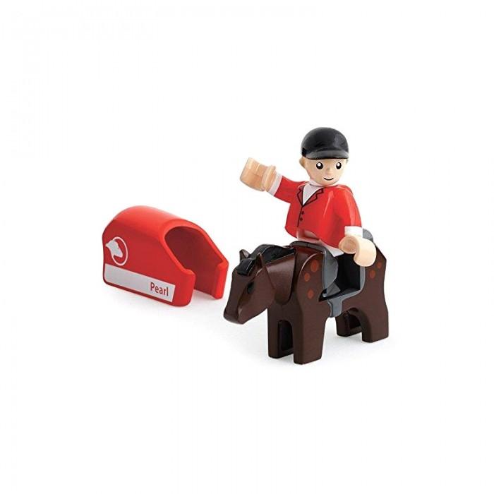 Brio Игровой набор Лошадка с попоной и наездник
