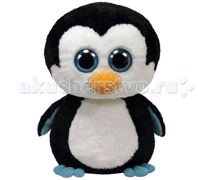 Мягкая игрушка TY Beanie Boos Пингвин Waddles 40,64 смBeanie Boos Пингвин Waddles 40,64 смTY Beanie Boos Пингвин Waddles 40,64 см 36803  Пингвин Beanie Boos Waddles понравится любому ребенку. Он имеет очень милый вид и очаровательные большие глазки. Пингвин изготовлен из высококачественных материалов, он набивной, его приятно трогать и обнимать. Игрушка подойдет как мальчику, так и девочке, и станет лучшим другом вашему ребенку.  Высота игрушки: 40,64 см<br>