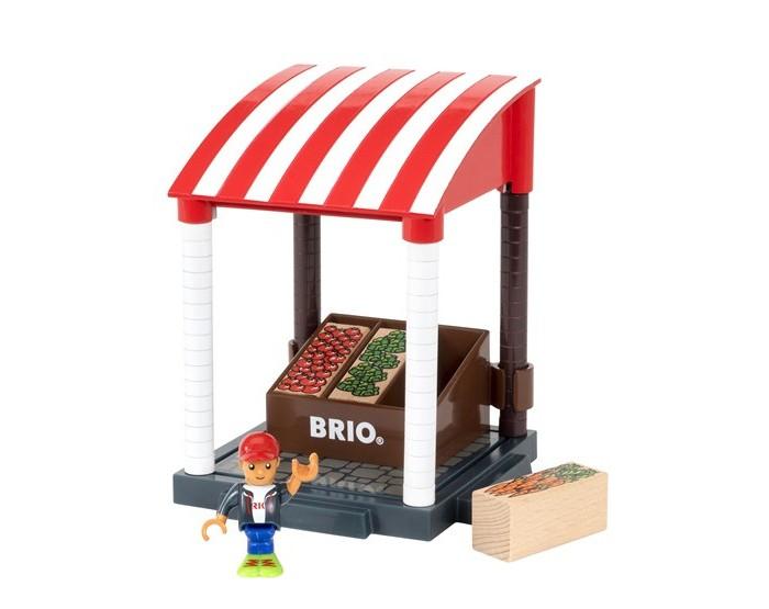 Brio Игровой набор Магазинчик 11 элементовИгровой набор Магазинчик 11 элементовНабор предназначен для сюжетно-ролевых игр, способствует развитию воображения, познавательного мышления и моторики.  Основные характеристики:   Размер упаковки: 20 x 12 x 14.5 см Вес: 351 г<br>