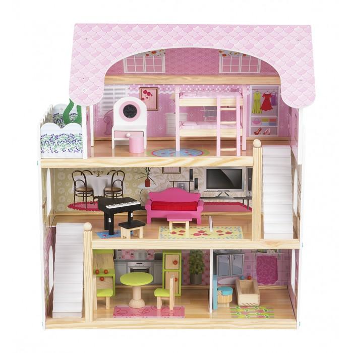 Edufan Кукольный дом с мебелью EF4110