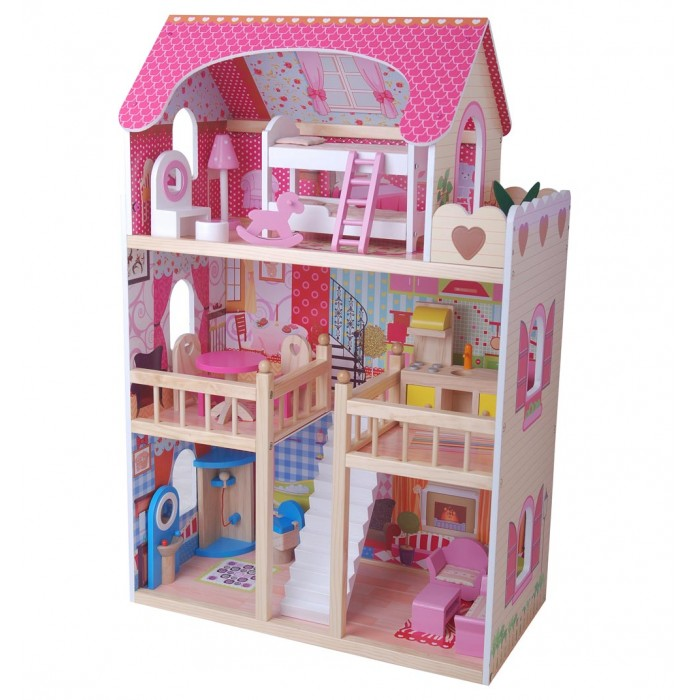 Edufan Кукольный дом с мебелью EF4109