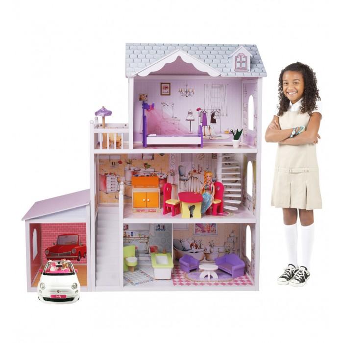 Edufan Кукольный дом с мебелью EF4108