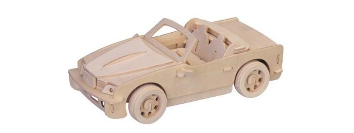 Конструктор Wooden Toys Сборная модель БМВСборная модель БМВБМВ это сборная деревянная игрушка - модель настоящей машины.   Все вырубные детали располагаются на фанерной доске. Для сборки модели их необходимо предварительно выдавить с места расположения и собирать в последовательности, указанной в прилагаемой инструкции.  Для того чтобы собранная модель служила долго, можно проклеить места соединения деталей при сборке.   При желании собранную модель можно раскрасить, используя любые типы краски. Производитель рекомендует темперные краски. После раскрашивания модель можно покрыть лаком.  В процессе сборки модели ребенок развивает усидчивость, пространственное и абстрактное мышление.   Все детали сборной модели изготовлены из экологически чистой древесины.  Комплектация:  4 фанерных пластины с деталями и инструкция по сборке.<br>