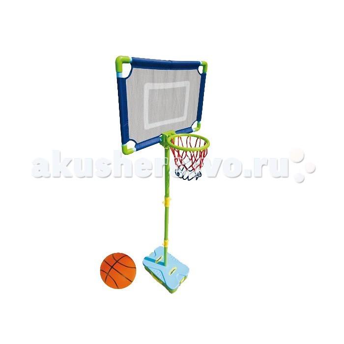 Mookie Набор для игры в баскетбол First Basketball SetНабор для игры в баскетбол First Basketball SetНабор для игры в баскетбол First Basketball Set - отличный выбор для тех, кто любит активный отдых. Удобный чемодан, в который упакован набор, можно взять с собой в поход или на дачу. Собрать складную стойку, установить корзину и щит настолько просто, что с этим справится даже ребенок - несколько минут и можно начинать игру. Высоту стойки можно менять в зависимости от роста малыша.  Комплектация набора:  Кейс-база; Баскетбольный мяч; Насос для мяча; Баскетбольная корзина; Сборно-разборная штанга.  Основные характеристики:   Размер упаковки: 16.5 x 40 x 26 см Вес: 1.6 кг<br>