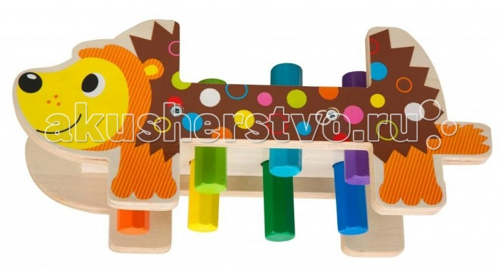 Деревянная игрушка Alex Игрушка для ванны Набор Дикобраз