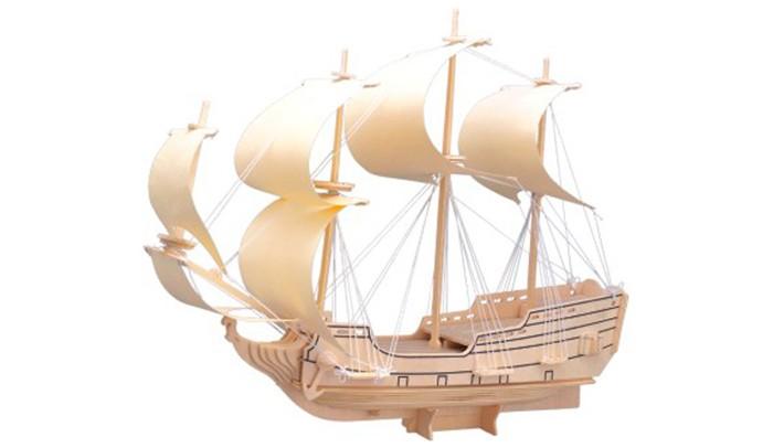 Конструктор Wooden Toys Сборная модель Парусник Орел