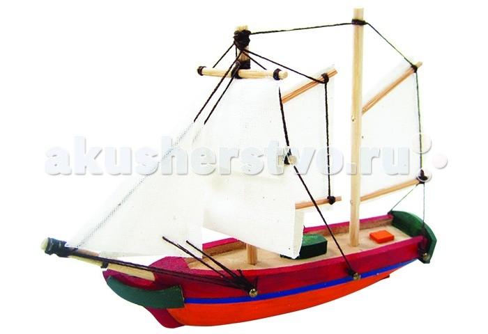 Конструктор Затейники ШхунаШхунаКонструктор Затейники Шхуна для развития в игре вашего ребенка, так как игрушка сделана из натурального дерева, то она прослужит вам очень долгое время.  Шхуна, 12x2,5x9 см, краски, кисточка и клей в наборе.<br>