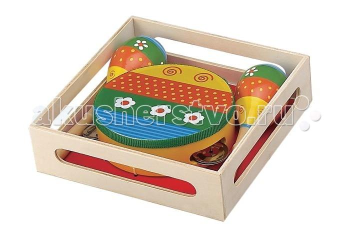 Музыкальная игрушка Затейники Набор музыкальных инструментов GT5765