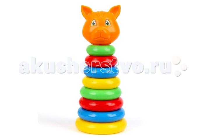 Развивающая игрушка Затейники Пирамида Животные ЛисаПирамида Животные ЛисаЗатейники Пирамида Животные Лиса - это яркая развивающая игрушка.   Пирамидка - это настоящее дидактическое пособие для малышей и тренажер для развития мелкой моторики и координации движений рук.   В процессе игры ребенок знакомится с разными цветами и размерами предметов, учится соотносить и сравнивать предметы по этим признакам.   С помощью пирамидки можно освоить устный порядковый счет.  В комплекте основание пирамидки, 8 разноцветных колец.  Изготовлено из высококачественной пластмассы.<br>