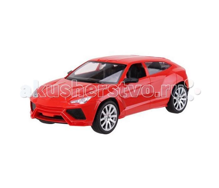 Пламенный мотор Машина на р/у Легковые автомобили Спортивный кроссовер (на аккумуляторе, свет) 1:12Машина на р/у Легковые автомобили Спортивный кроссовер (на аккумуляторе, свет) 1:12Эта прекрасная радиоуправляемая модель Lamborghini Urus от бренда Пламенный мотор станет замечательным подарком для юного автолюбителя и коллекционера. В комплект с машинкой входят четырехканальный пульт управления и аккумуляторные батарейки. Модель выполнена в масштабе 1:12 в ярко-красном цвете. Корпус Lamborghini Urus изготовлен из качественного пластика. Машинка может двигаться вправо, влево, вперед и назад, при этом у нее загораются фары. А еще эта машинка может двигаться со скоростью 15 км/ч, что станет еще одной причиной приобрести данную игрушку.   В комплекте:    Машина; Пульт управления; Аккумулятор.  Основные характеристики:   Размер упаковки: 46 x 19 x 18 см Масштаб: 1:12 Скорость: 15 км/ч. Вес: 1.5 кг<br>