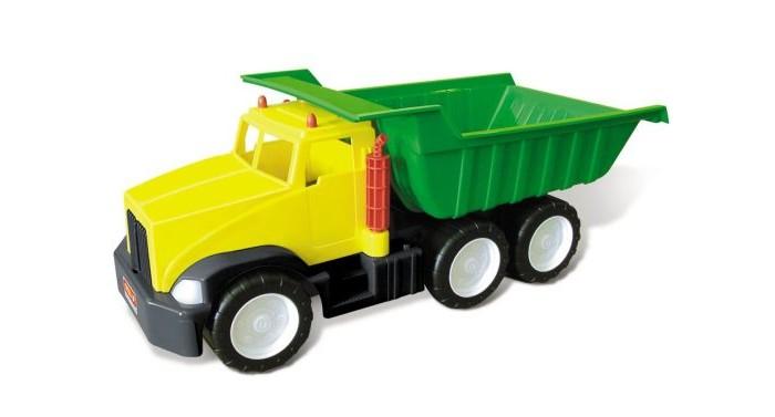 Стеллар Грузовик самосвал 640 КГрузовик самосвал 640 КСтеллар Грузовик самосвал 640 К имеет яркую расцветку, привлекающую внимание.   Особенности: Грузовик напоминает настоящую машину, ту самую, которые дети не раз видели на улице.  У него массивные колёса и вместительный зеленый кузов, который можно поднимать и опускать, а также засыпать в него песок и перевозить грунт.  С такой машиной можно разыгрывать сценки из стройки!<br>