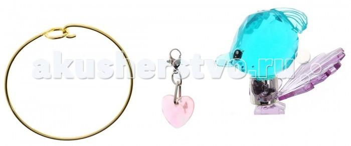 Crystal Surprise Фигурка Павлин с браслетом и подвесками