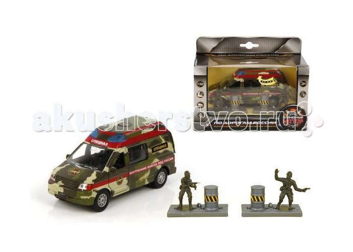 Пламенный мотор Игровой набор Спецназ МВД (свет, звук) 1:32
