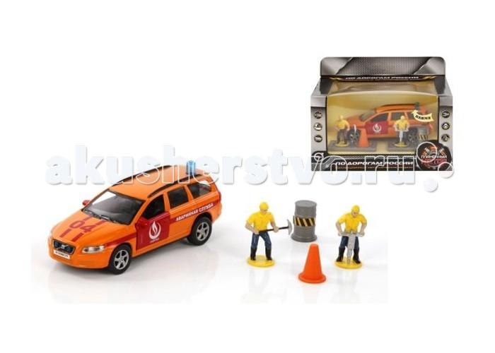 Пламенный мотор Игровой набор Volvo Горгаз (свет, звук) 1:32