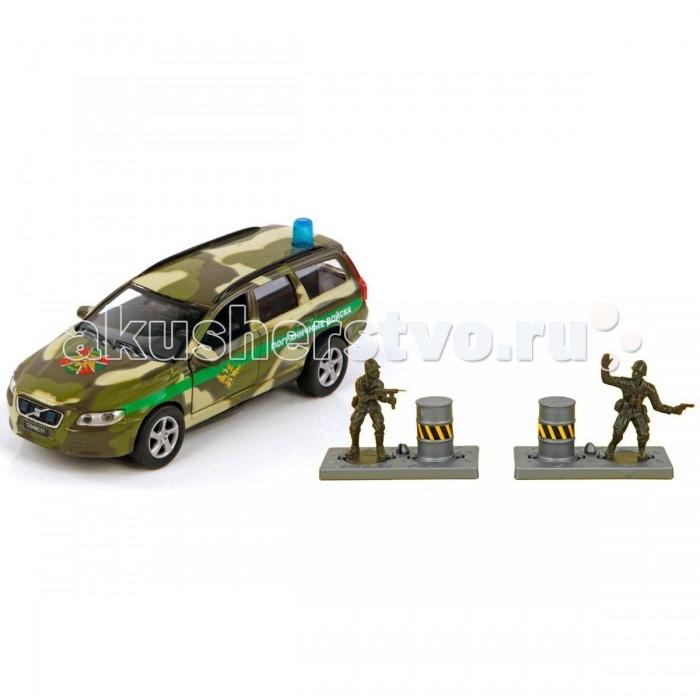 Пламенный мотор Игровой набор Volvo Пограничные войска (свет, звук) 1:32