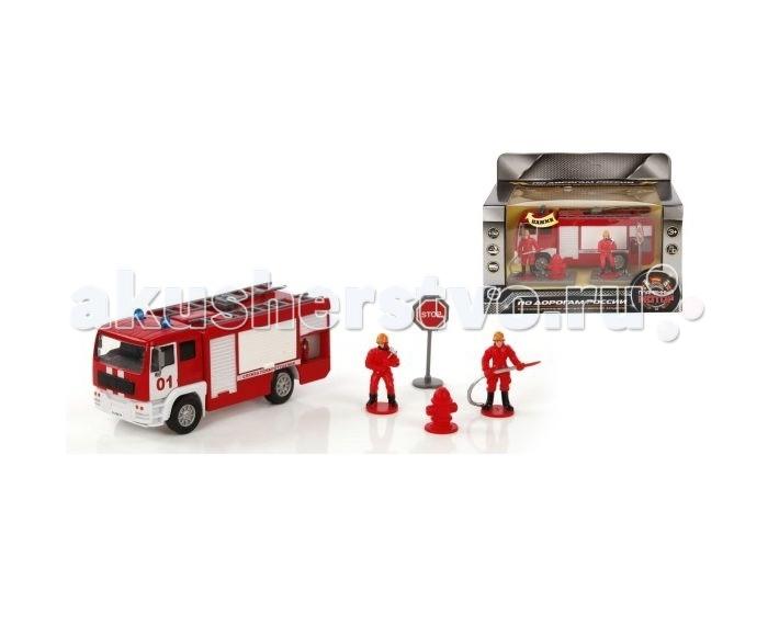 Пламенный мотор Игровой набор Служба пожаротушения (свет, звук) 1:32