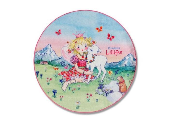 Boing Carpet Ковёр Prinzessin Lillifee 130 см 102-130RКовёр Prinzessin Lillifee 130 см 102-130RSpiegelburg Ковёр Prinzessin Lillifee &#216;130 см 102-130R. Детский круглый ковёр ручной работы с изображением Принцессы Лилифи обязательно приглянётся каждой юной моднице, которая захочет иметь такой ковёр в своей комнатке рядом с кроваткой.Нежные приятные цвета и очаровательный рисунок придадут интерьеру особое изящество.    Ковёр изготовлен из полиакрила с добавлением специального вещества хитозана, которое обеспечивает влагостойкость и поглощение неприятных запахов, а также обладает антибактериальными свойствами. Высота ворса составляет 10 мм. Размер ковра - 130 см в диаметре.   Вашей девочке будет очень приятно вставать на этот милый коврик ножками, поскольку он очень мягкий и тёплый. Филигранная вырезка контуров добавляет этому ковру особый шик. Приобретайте коврик для маленькой принцессы и привнесите в её жизнь частичку доброго волшебного мира!<br>
