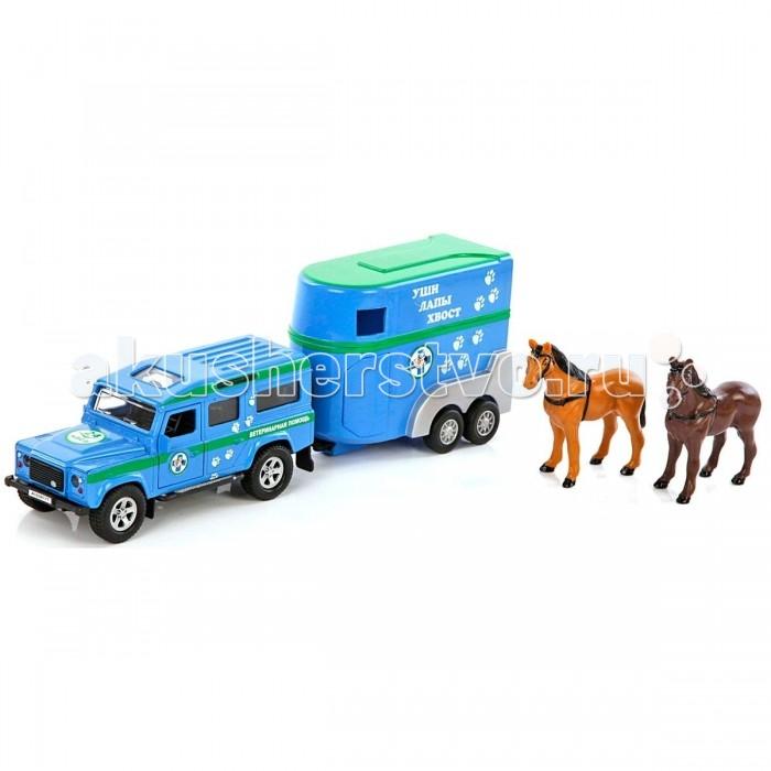 Пламенный мотор Игровой набор Land Rover Ветеринарная помощь 1:32