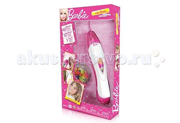 Barbie Набор для украшения волос с бусинками
