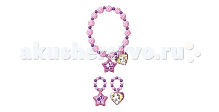 Barbie Набор украшений 2 кольца и браслет
