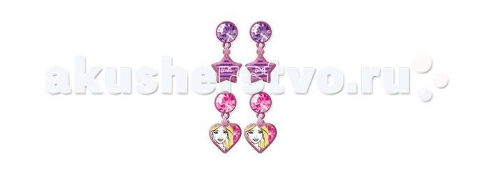 Barbie Набор украшений серьги