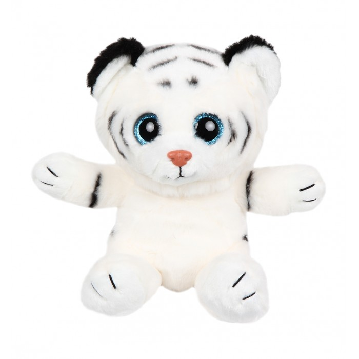 Мягкая игрушка Leader Kids Белый тигренок 20 см