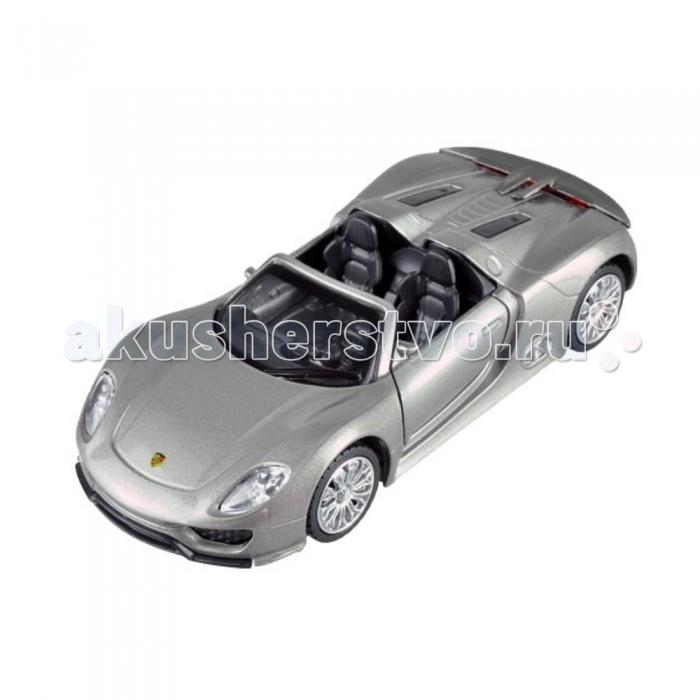 Пламенный мотор Металлическая машинка По дорогам мира Porsche 918 Spyder 1:41Металлическая машинка По дорогам мира Porsche 918 Spyder 1:41Модель машинки из серии По дорогам мира является точной уменьшенной копией гоночного автомобиля Porsche 918 Spyder. Благодаря точному исполнению всех деталей машин, игра с ней будет захватывающей и увлекательной. Стильный кабриолет с открывающимися дверками займет достойное место в коллекции автомобилей настоящего ценителя.  Внимание!  Цветовое исполнение элементов игрушки варьируется, может отличаться от изображения на фото.  Основные характеристики:   Размер упаковки: 14 x 10 x 7 см Масштаб: 1:41<br>