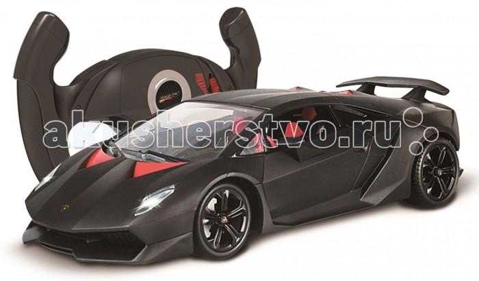 Auldey Машина на батарейках радиуоправляемая LAMBORGHINI - Sesto LC258040Машина на батарейках радиуоправляемая LAMBORGHINI - Sesto LC258040LAMBORGHINI - Sesto LC258040. Изготовленный по лицензии владельца автомобильного бренда, этот радиоуправляемый автомобиль доставит вашему ребенку массу незабываемых впечатлений от динамичной, захватывающей игры.  Главная особенность автомобиля - пульт выполнен в виде руля и автомобиль реагирует движением на наклоны пульта. Чтобы повернуть авто вправо - нужно наклонить пульт управления вправо, влево - пульт управления наклонить влево, для движения вперед с включенными фарами - пульт нужно наклонить вперед и для движения назад со включенными стопами - наклонить пульт управления назад. С пульта также активируется turbo - режим - ускорение автомобиля.  Автомобиль оснащен по последнему слову игрушечной техники: он имеет профессиональное шасси, полнофункциональный радиоконтроль, свет передних и задних фар, независимую подвеску передних и задних колес, что позволяет ему имитировать маневры настоящей машины.  Отличительной особенностью данной модели также являются изысканный интерьер салона.  Частота, на которой действует автомобиль - 2,4G. Радиус действия пульта — до 30 м. Скорость — 7 км/ч.в турборежиме — 11 км/ч.  Требует: 2 батарейки типа АА для пульта управления. 4 батарейки типа АА для машинки (в комплект не входят).<br>