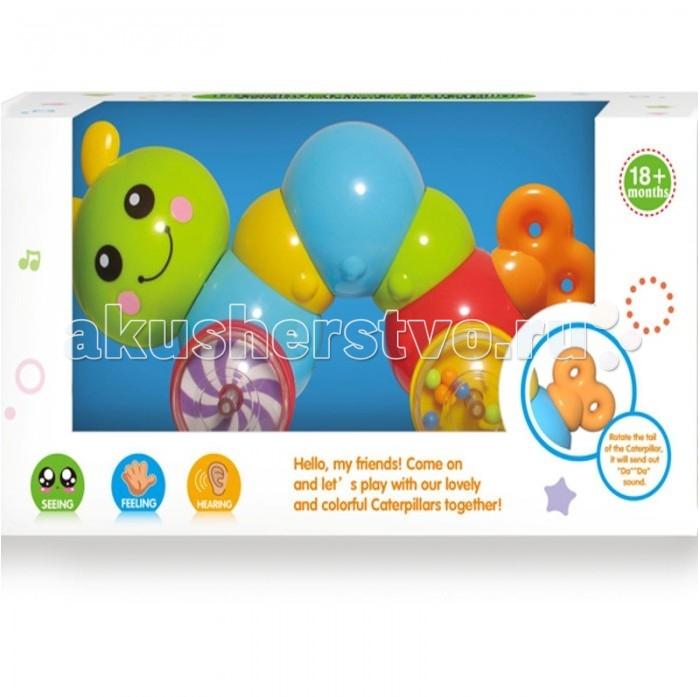 Huile Toys Игрушка-каталка Гусеница Y1567385